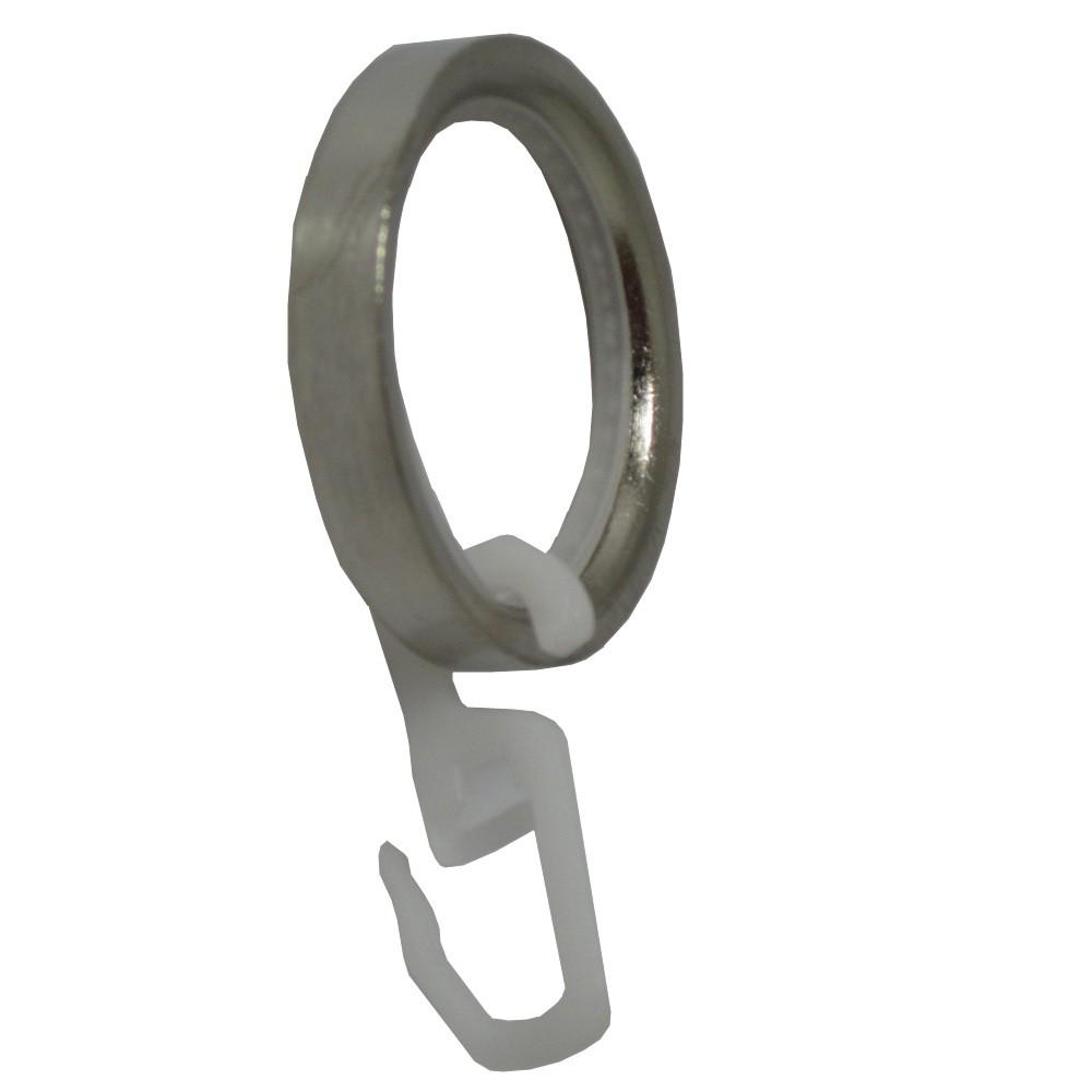 für Rohre 20 mm 1Stück Gardinenringe Eisen Rost mit Gleiteinlage